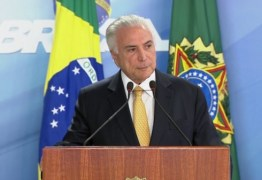 Parlamentares pedem a Temer para decretar intervenção federal na segurança do estado
