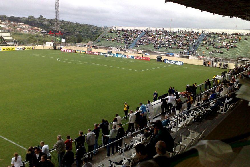 estadio amigao - Jogo entre Treze e Imperatriz tem reforço da PM e esquema de ônibus
