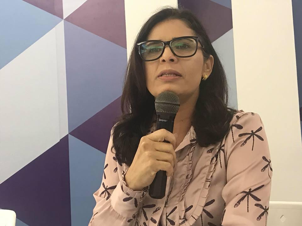 geusa ribeiro cabedelo master news - SEM MEDO: Vereadora Geusa Ribeiro diz que prefere disputar a prefeitura de Cabedelo em eleições diretas - Veja Vídeo