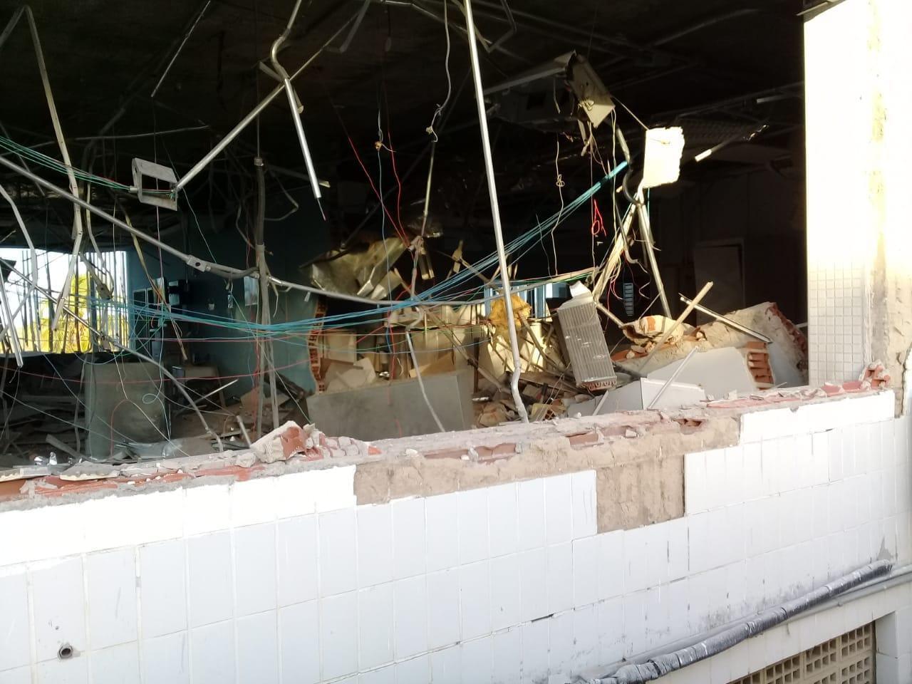 gurinhem 1 - MAIS UM ATAQUE: grupo armado explode agência bancária em Gurinhém