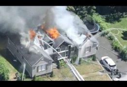 VEJA VÍDEO: Incêndio destrói casa de cantora gospel, e a mesma pede orações