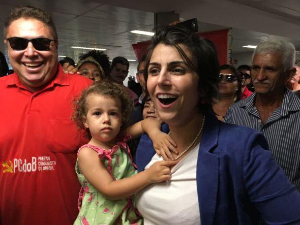 manu - Na PB, Manuela d'Ávila defende candidatura única das esquerdas -VEJA VÍDEO