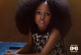 Menina de 5 anos da Nigéria é considerada a 'garota mais bonita do mundo'