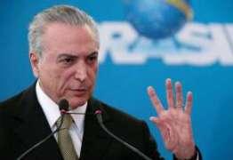 Após dar palpite certeiro Temer festeja vitória do Brasil com ministros