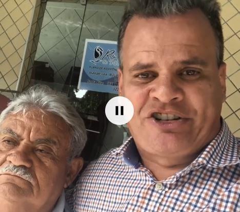 mofi e vice santa rita - VEJA VÍDEO: Vice prefeito de Santa Rita declara apoio a Emerson Machado