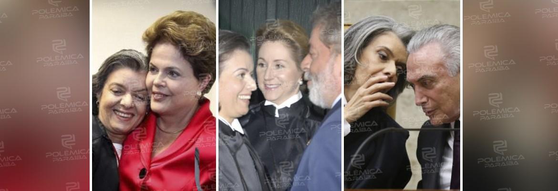 montagem 2 - A Justiça não tem lado, preferências, protegidos nem adversários - Por Cármem Lúcia