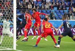 França vai vencendo a Bélgica pelas semis da Copa; 1 a 0