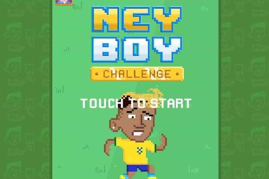 Quedas exageradas de Neymar na Copa inspiram game