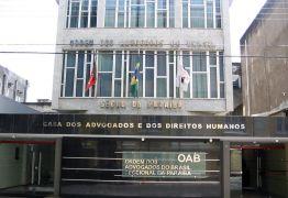 Tribunal de Ética da OAB-PB aprova expulsão de seis advogados