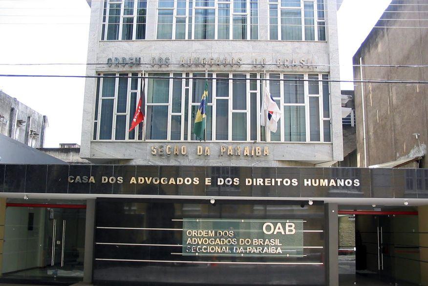 oab pb - Tribunal de Ética da OAB-PB aprova expulsão de seis advogados