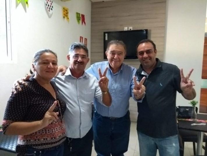 renato gadelha - Renato Gadelha recebe apoio de ex-prefeito no Sertão