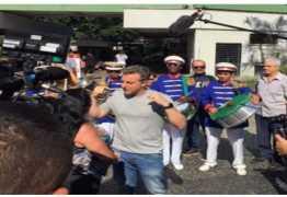 PARAÍBA: Luciano Huck grava quadro para o 'Caldeirão do Huck' em Teixeira