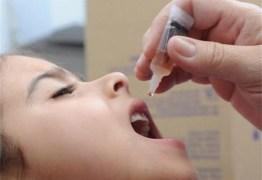 Campanha de vacinação contra sarampo e poliomielite inicia nesta quarta-feira
