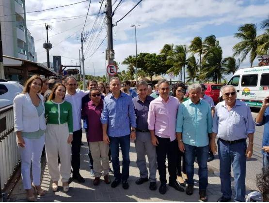 3 - FOTOS – Confirmando apoio, Daniella e Aguinaldo Ribeiro chegam a evento do PP ao lado de Lucélio Cartaxo