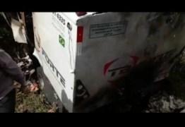 Carro-forte é explodido em rodovia federal da PB por grupo armado