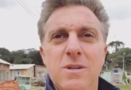 Luciano Huck compara bairro pobre de cidade brasileira com Haiti