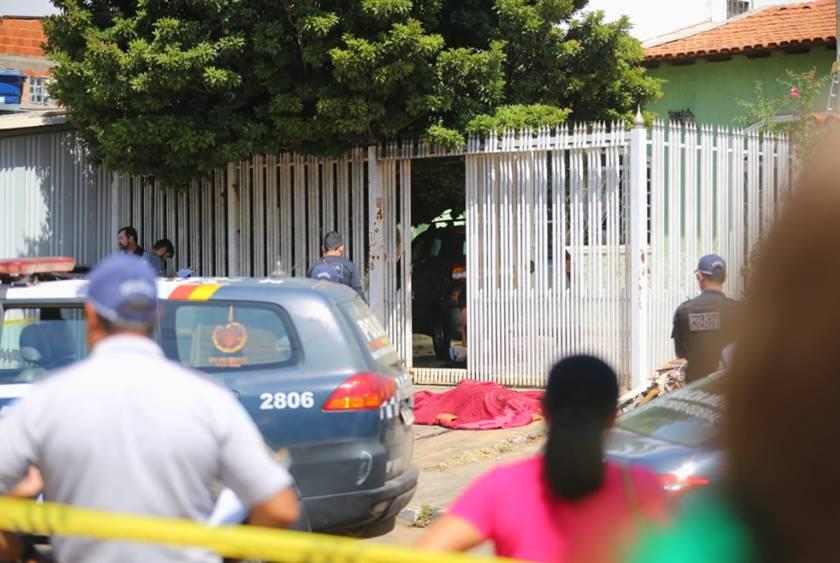 Crime no Riacho Fundo II1 - FEMINICÍDIO: Homem tenta estrangular mulher com fio de eletricidade e se dá mal, veja
