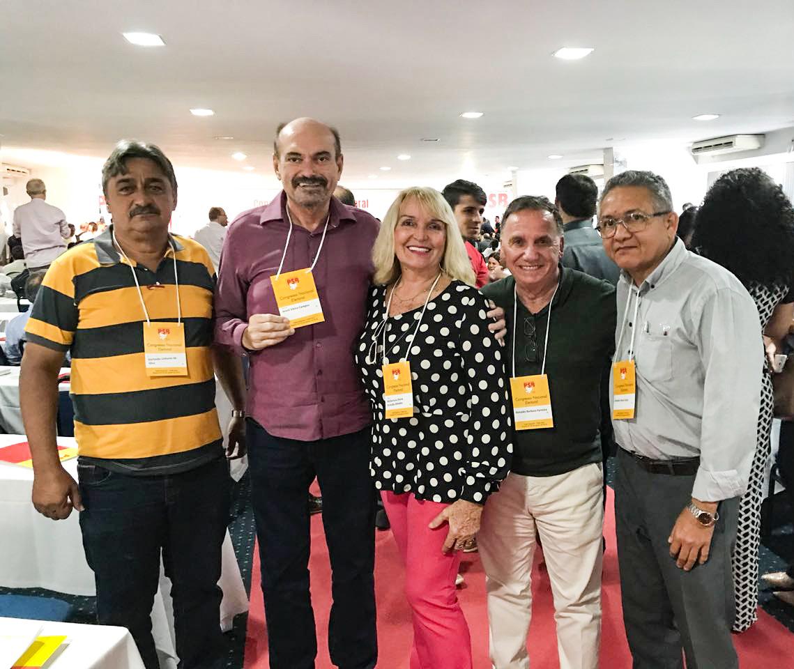 Depuitado Jeová Campos representou o PSB da Paraíba na convenção nacional do Partido - Deputado Jeová Campos representa o PSB da PB em Convenção Nacional do Partido em Brasília um dia após a Convenção Estadual
