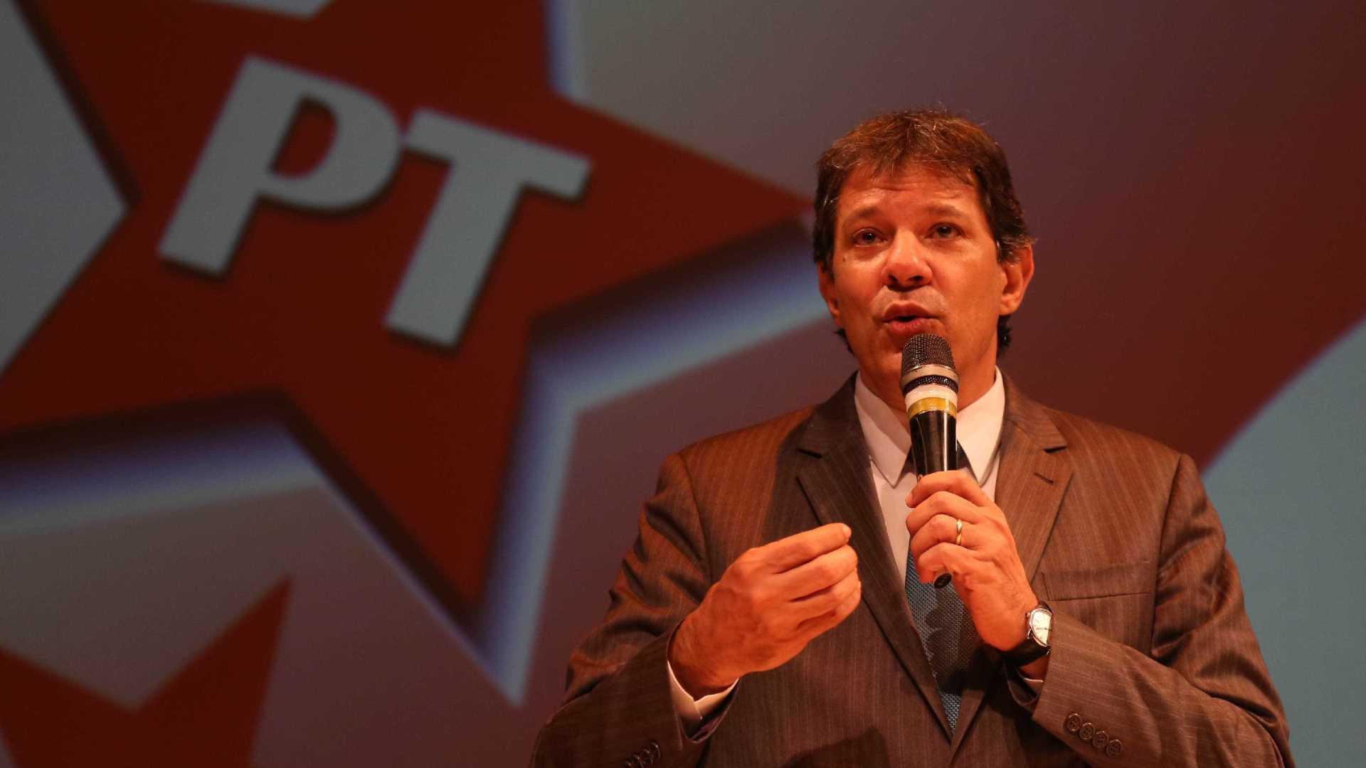 Haddad 1 - Haddad: não trabalho com hipótese da sentença (de Lula) ser confirmada