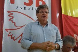 Joao Azevedo pré candidato 300x200 - Confira agenda de campanha do candidato João Azevêdo deste sábado