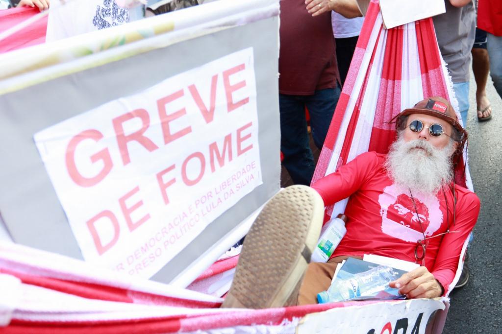 LUX20180815009 1024x682 - Paraibano e outros ativistas do MST encerram greve de fome após 26 dias