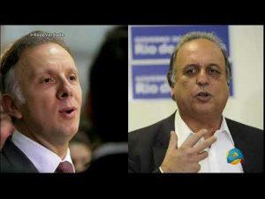 PEZÃO E ADDAD 300x225 - AGUINALDO RIBEIRO CITADO EM DELEÇÃO: Quando Ministro pediu propina ao governador Pezão para liberar R$ 3,5 bilhões - VEJA VÍDEO