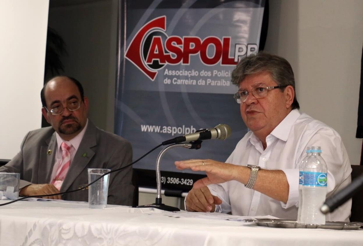 WhatsApp Image 2018 08 09 at 08.38.18 - Em debate com policiais, João lembra que Paraíba está entre os cinco estados que mais investem em segurança pública