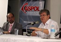 Em debate com policiais, João lembra que Paraíba está entre os cinco estados que mais investem em segurança pública