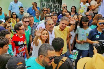 Daniella Ribeiro Participou de ação em Campina Grande neste Domingo