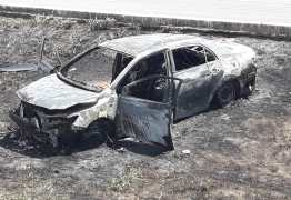 Acidente com vítima: Motorista perdeu o controle ao bater no canteiro central em Santa Rita