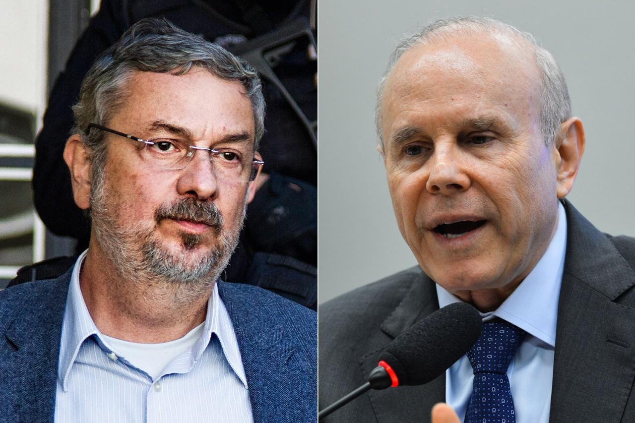 brasil politica antonio palocci guido mantega - Sérgio Moro aceita denúncia contra Guido Mantega e rejeita acusações contra Palocci