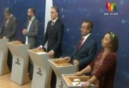 DEBATE NA MANAÍRA: no 3º bloco, Tárcio garantiu que vai abrir mão do salário de governador se for eleito