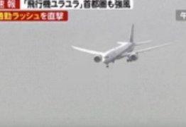 Piloto evita tragédia durante tufão – VEJA VÍDEO