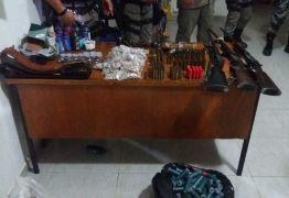 Grupo é preso com armas e material para confecção de explosivos no Sertão da Paraíba