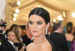 Quase irreconhecível e em topless, Kendall Jenner posa para revista – CONFIRA