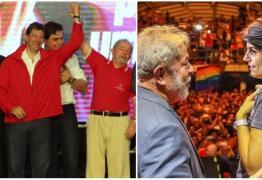 PT indica Haddad para vice, mas Manuela, do PCdoB, assumirá vaga com definição de situação de Lula