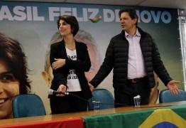Haddad e Manuela planejam debate paralelo ao da TV nesta quinta