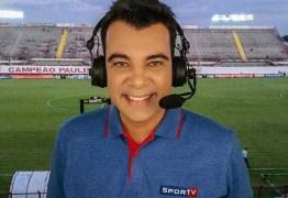Narrador do SporTV é demitido após 8 anos: 'Pego de surpresa'