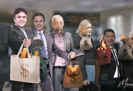 Candidatos ao Senado declaram R$ 4 milhões em bens; Roberto Paulino é o mais rico e Luiz Couto o mais pobre