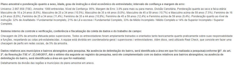 pesquisa 02 1 - EXCLUSIVA: Polêmica Paraíba divulga a pesquisa de intenção de voto para governador - JOÃO AZEVEDO LIDERA