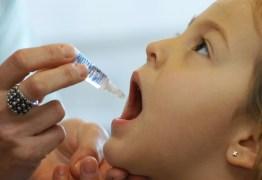 Campanha de Vacinação contra sarampo e polimielite começa nesta segunda-feira