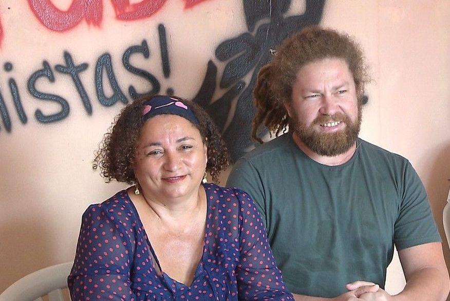 rama dantas e emanuel candeia   pstu - AGORA É OFICIAL: Conheça as chapas que vão disputar as eleições 2018 na Paraíba