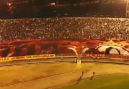 Campinense é multado depois de atitude da torcida no estádio Amigão