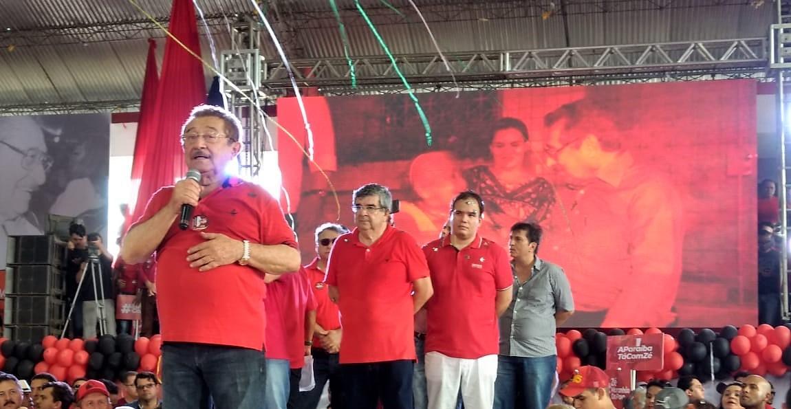 zé maranhão discurso convenção mdb - VEJA VÍDEO: MDB confirma os nomes de Maranhão e Roberto Paulino na Majoritária