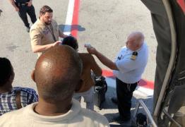 Avião com 500 passageiros é retido após suspeita de cólera