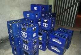 Policial militar é preso com 719 garrafas de cerveja roubadas de caminhão