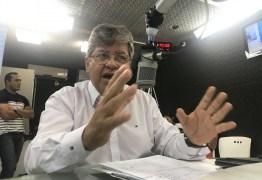 'Vencemos os crimes contra a vida e vamos focar nos contra o patrimônio', diz João Azevedo