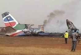 Avião cai e deixa 17 mortos no Sudão do Sul; 3 sobreviveram