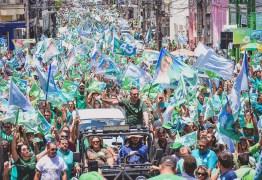 'A Paraíba quer o novo para transformar pra melhor a vida de todos com Lucélio', afirmou o presidente do PV durante caminhada