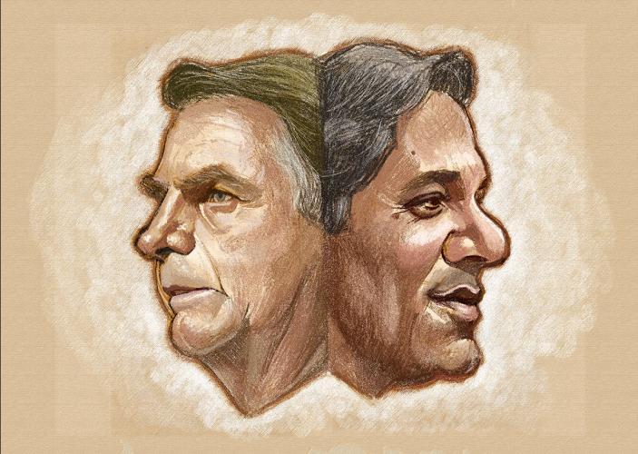 BOLSONARO HADDAD - DESESPERO? Imprensa nacional acusa marketing de Bolsonaro de apelar para FAKE NEWS contra Haddad
